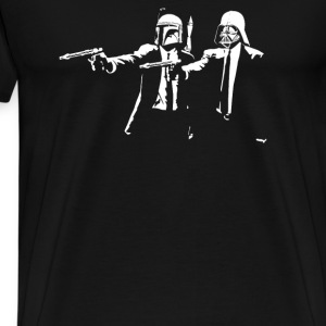 Darth Vader Boba Fett Pulp Fiction - Men's Premium T-Shirt