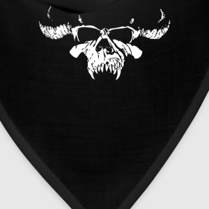 Skull Bone Heavy Metal Rock Band Legend - Bandana