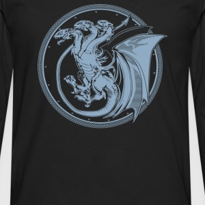 Triple Dragon - Men's Premium Long Sleeve T-Shirt
