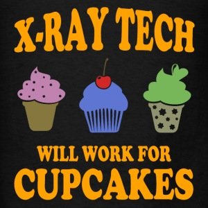 X-Ray tech - Will Work For Cupcakes Hoodies - Men's T-Shirt