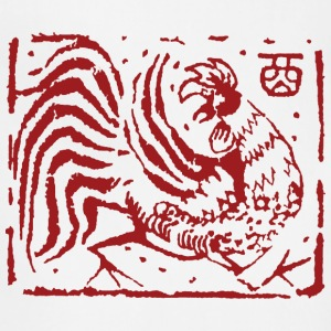 Chinese Zodiac Rooster Abstract - Adjustable Apron