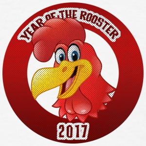 Year of The Rooster 2017 - Men's T-Shirt