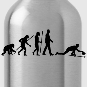 evolution_curling_player_10_2016_a_1c Kids' Shirts - Water Bottle