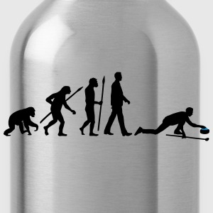 evolution_curling_player_10_2016_c_2c Kids' Shirts - Water Bottle