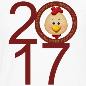 Year of The Rooster 2017 - Men's Premium Long Sleeve T-Shirt