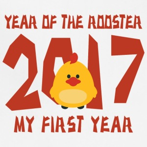 2017 Year of The Rooster Baby - Adjustable Apron