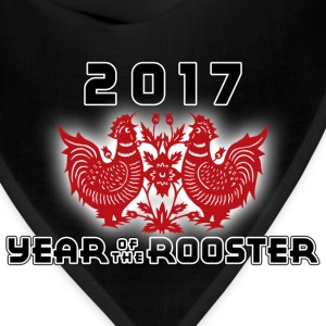 Year of The Chinese Zodiac Rooster 2017 - Bandana