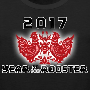 Year of The Chinese Zodiac Rooster 2017 - Men's Premium Tank