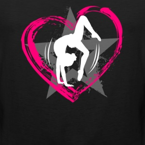 Love Gymnastics T shirt - Men's Premium Tank