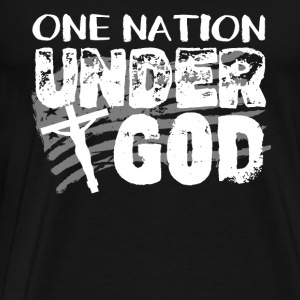 One Nation Under God - Men's Premium T-Shirt