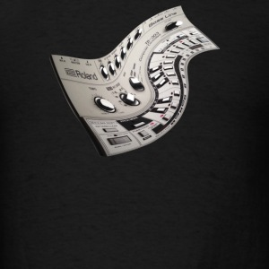 303 Warped Dj - Men's T-Shirt