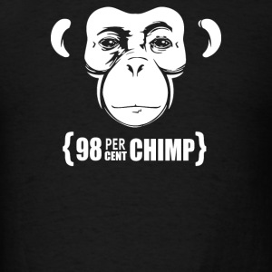 98 percent Chimp - Men's T-Shirt
