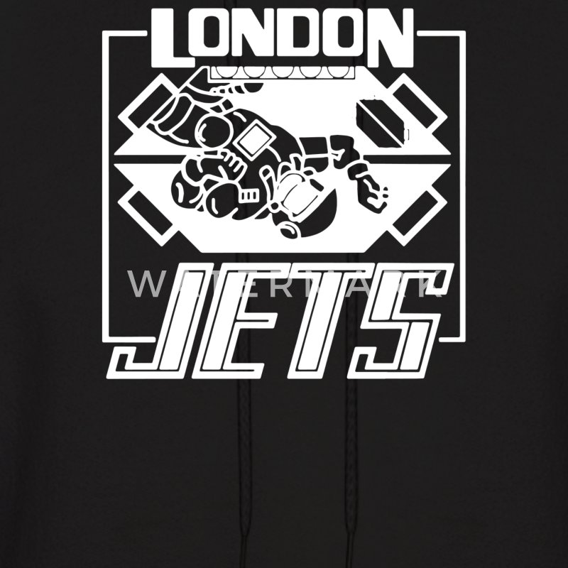 Dave Lister London Jets - Men's Hoodie