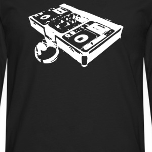dj turntable - Men's Premium Long Sleeve T-Shirt