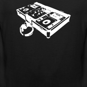 dj turntable - Men's Premium Tank