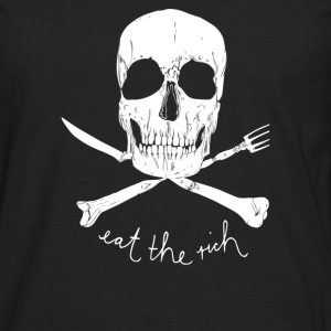 Eat The Rich - Men's Premium Long Sleeve T-Shirt