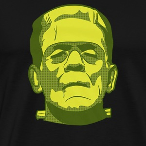 Frank Halloween Scary Monsters - Men's Premium T-Shirt