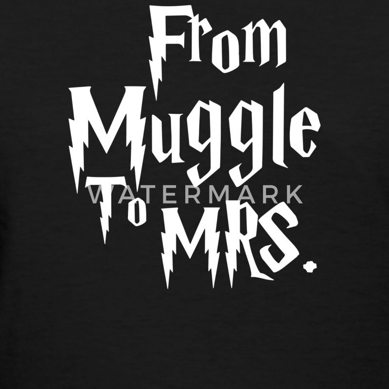 From Muggle To Mrs - Women's T-Shirt