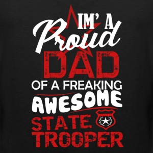 State Trooper Dad Shirt - Men's Premium Tank