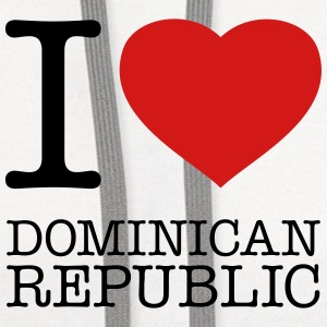 I LOVE DOMINICAN REPUBLIC - Contrast Hoodie