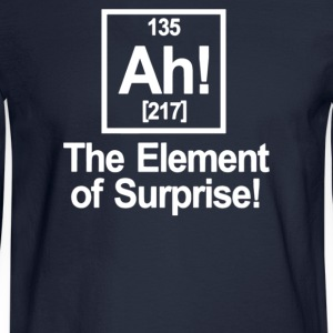 Ah Element Of Surprise - Men's Long Sleeve T-Shirt