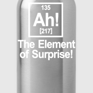 Ah Element Of Surprise - Water Bottle