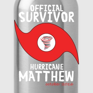 OFFICIAL SURVIVOR HURRICANE MATTHEW T-Shirts - Water Bottle