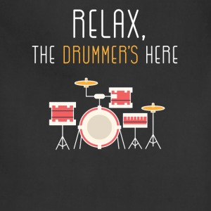 Relax, the drummer's here - Adjustable Apron