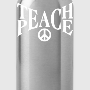 teach peace - Water Bottle