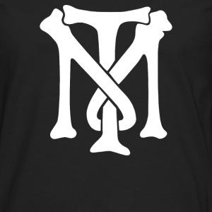 Tony Montana Monogram Emblem - Men's Premium Long Sleeve T-Shirt