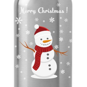 Christmas snowman - Water Bottle