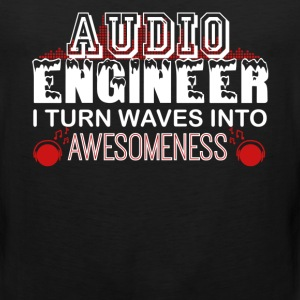 Audio Engineer Tshirt - Men's Premium Tank