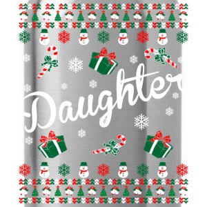 Daughter Ugly Christmas Sweater T-Shirts - Water Bottle