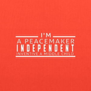 I'm a peacemaker, independent, inventive a middle  - Tote Bag