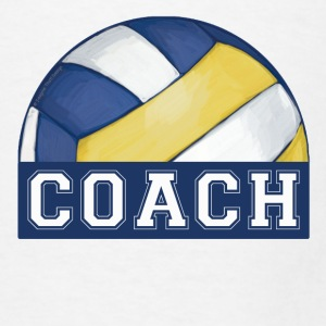 Volleyball Coach Mousepad - Men's T-Shirt