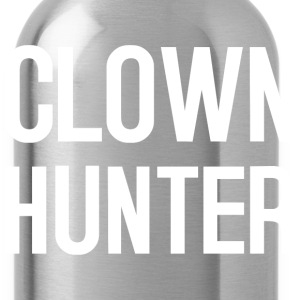 Clowns Text 4 white T-Shirts - Water Bottle