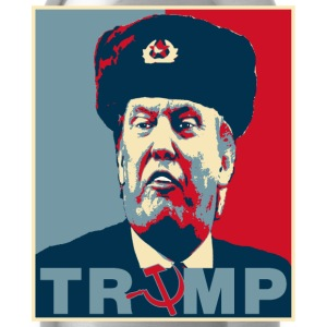 Trump Russian Poster tee T-Shirts - Water Bottle