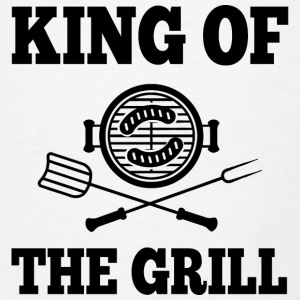 King Of the Grill Aprons - Men's T-Shirt