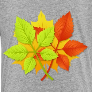 Autumn leaves Kids' Shirts - Toddler Premium T-Shirt