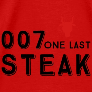 007 steak - Men's Premium T-Shirt