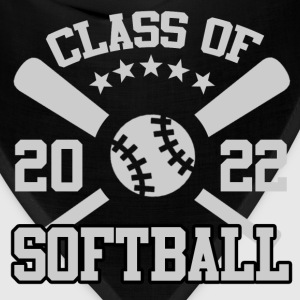 CLASS OF 2022 SOFTBALL, CLASS OF, 2022, SOFTBALL - Bandana