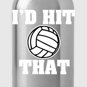 Funny I'd hit that Volleyball shirt - Water Bottle