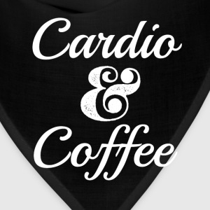 Funny Cardio and Coffee Shirt  - Bandana