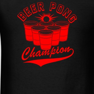 Beer Pong Champion - Men's T-Shirt