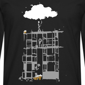 Building a Cloud - Men's Premium Long Sleeve T-Shirt