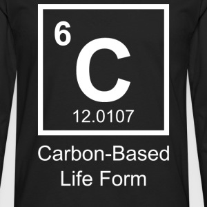 Carbon-Based Life Form - Men's Premium Long Sleeve T-Shirt