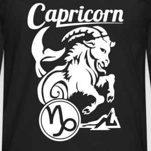 Capricorn Zodiac - Men's Premium Long Sleeve T-Shirt
