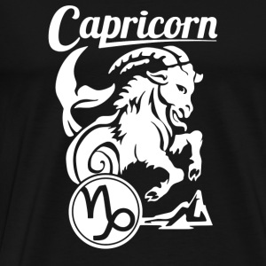 Capricorn Zodiac - Men's Premium T-Shirt