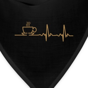 coffee_heartbeat_ - Bandana