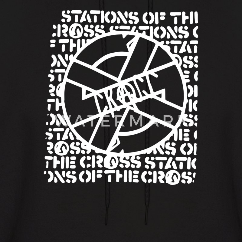Crass band logo - Men's Hoodie